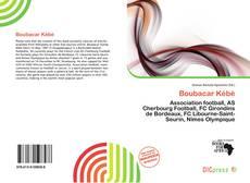 Capa do livro de Boubacar Kébé