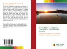 Subsídios às tarifas dos serviços de Saneamento Básico kitap kapağı