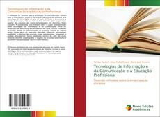 Capa do livro de Tecnologias de Informação e da Comunicação e a Educação Profissional