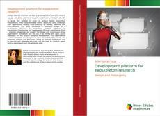 Обложка Development platform for exoskeleton research