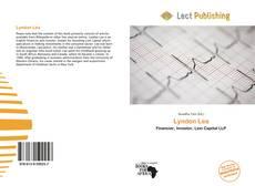 Capa do livro de Lyndon Lea