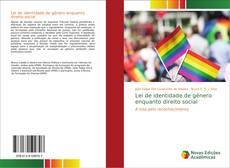 Capa do livro de Lei de identidade de gênero enquanto direito social