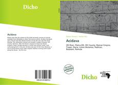 Bookcover of Acidava