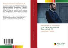 Bookcover of Finanças e Governança Corporativa - III