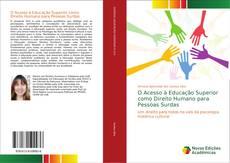 Capa do livro de O Acesso à Educação Superior como Direito Humano para Pessoas Surdas