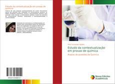 Обложка Estudo da contextualização em provas de química