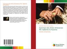 Portada del libro de Garimpo das Artes Artesanais RS: Saberes & Fazeres