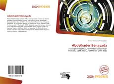 Couverture de Abdelkader Benayada