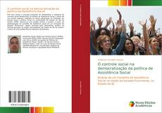 Portada del libro de O controle social na democratização da política de Assistência Social