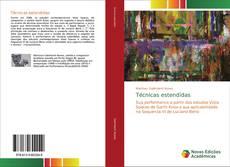 Bookcover of Técnicas estendidas