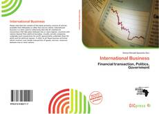 Bookcover of International Business