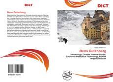 Capa do livro de Beno Gutenberg