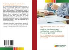 Capa do livro de Análise da abordagem contextual no conteúdo de ligações químicas