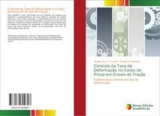 Buchcover von Controle da Taxa de Deformação no Corpo de Prova em Ensaio de Tração