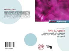 Buchcover von Myron J. Gordon