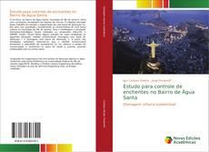 Capa do livro de Estudo para controle de enchentes no Bairro de Água Santa