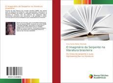 Capa do livro de O Imaginário da Serpente na literatura brasileira