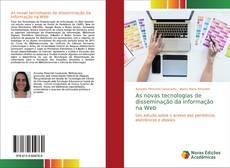 Portada del libro de As novas tecnologias de disseminação da informação na Web