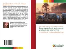 Couverture de Caracterização de sistemas de produção de leite bovino