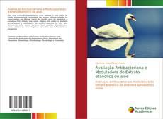 Capa do livro de Avaliação Antibacteriana e Moduladora do Extrato etanolico de aloe