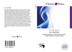 Bookcover of As-Saffah