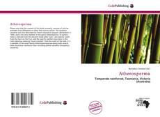 Bookcover of Atherosperma