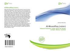 Capa do livro de Al-Muwaffaq (vizier)