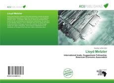 Lloyd Metzler的封面