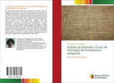 Portada del libro de Análise de Sentidos: Curso de Formação de Professores Indígenas