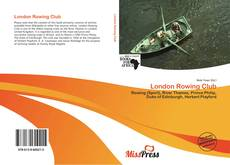 Capa do livro de London Rowing Club