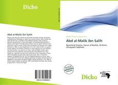 Capa do livro de Abd al-Malik ibn Salih