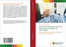 Capa do livro de Análise da Produção Científica sobre Administração da Informação
