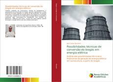 Bookcover of Possibilidades técnicas de conversão do biogás em energia elétrica