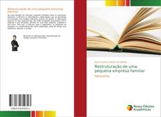 Portada del libro de Restruturação de uma pequena empresa familiar