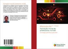 Capa do livro de Formação inicial de professores na EaD