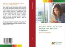 Capa do livro de A química inscrita nos espaços urbanos: uma leitura de embalagem