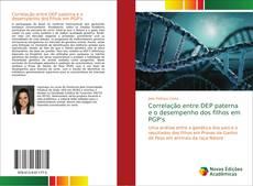 Capa do livro de Correlação entre DEP paterna e o desempenho dos filhos em PGP's