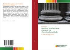 Portada del libro de Medidas Provisórias e Controle de Constitucionalidade