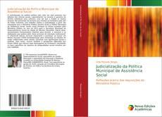 Capa do livro de Judicialização da Política Municipal de Assistência Social
