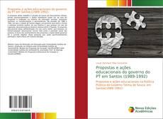 Capa do livro de Propostas e ações educacionais do governo do PT em Santos (1989-1992)