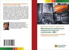 Capa do livro de Metodologia de medição para máquinas de medir por coordenadas - MMC