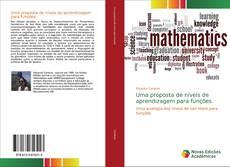 Buchcover von Uma proposta de níveis de aprendizagem para funções
