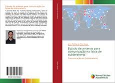 Capa do livro de Estudo de antenas para comunicação na faixa de subterahertz