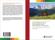 Uso de Medicamento Homeopático para Helmintoses em Equinos的封面