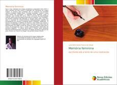 Buchcover von Memória feminina