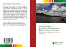 Capa do livro de Universitários de Comunidades Tradicionais - Experiencias de Formação