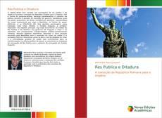 Capa do livro de Res Publica e Ditadura
