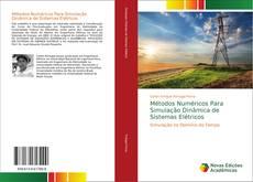 Buchcover von Métodos Numéricos Para Simulação Dinâmica de Sistemas Elétricos