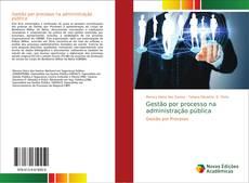 Capa do livro de Gestão por processo na administração pública