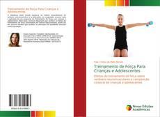 Capa do livro de Treinamento de Força Para Crianças e Adolescentes